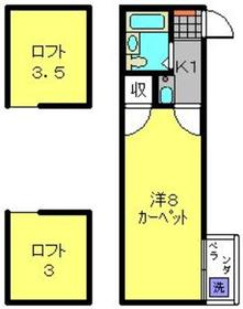 高田駅 徒歩7分2階Fの間取り画像