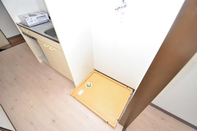 レスポワール 室内洗濯機置場だと終了音が聞こえて干し忘れを防げますね。