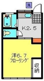 片倉町駅 徒歩8分1階Fの間取り画像
