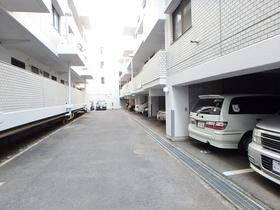 中銀府中大国マンシオン駐車場