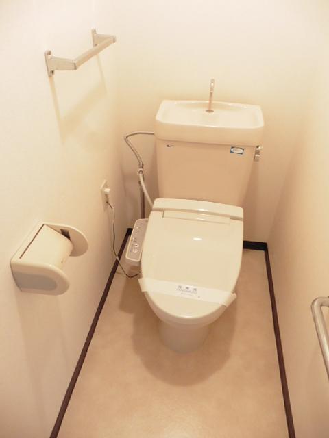 エーデルハイム2号棟トイレ