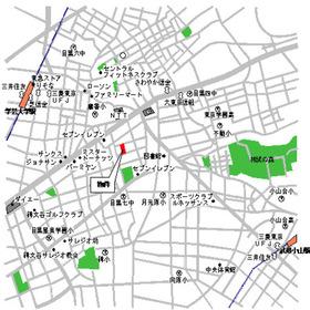 パークアクシス目黒本町案内図