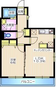 メゾン プレジール3階Fの間取り画像