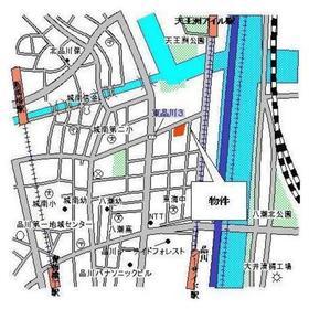 パークキューブ東品川案内図
