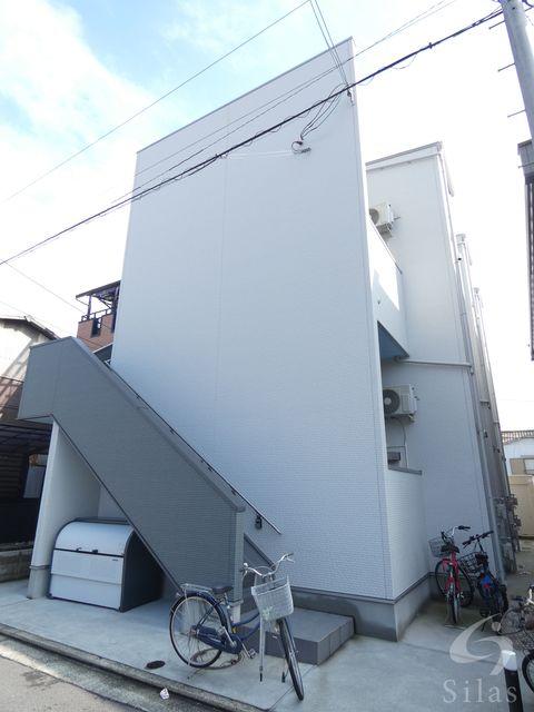 堺市堺区二条通の賃貸アパートの外観
