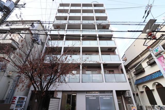 大阪市福島区鷺洲2丁目の賃貸マンションの外観