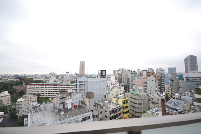 パークハビオ恵比寿景色