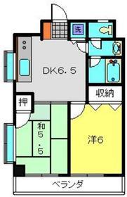 メゾンYK3階Fの間取り画像