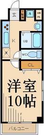 HALEKAULANA3階Fの間取り画像