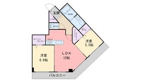 KIERRASAARI5階Fの間取り画像