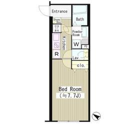 シーズリンクス赤坂4階Fの間取り画像