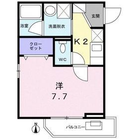 モ-デ グランツ1階Fの間取り画像