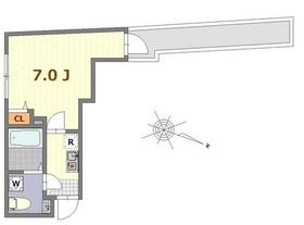 保土ヶ谷駅 徒歩13分1階Fの間取り画像