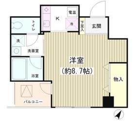 TKR神田多町2階Fの間取り画像