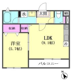 エルアノール 103号室
