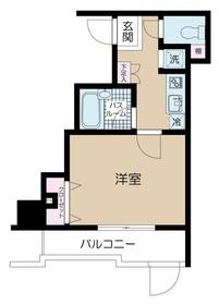 パークウェル高円寺1階Fの間取り画像