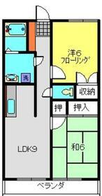 ラピス大倉山Ⅱ1階Fの間取り画像