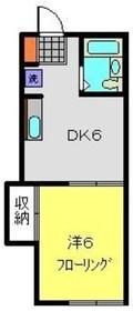 天王町駅 徒歩11分2階Fの間取り画像