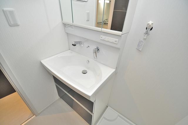 メゾンサンヴァレー 人気の独立洗面所はゆったりと余裕のある広さです。