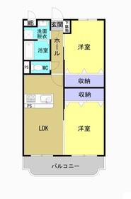 コンフォート I3階Fの間取り画像