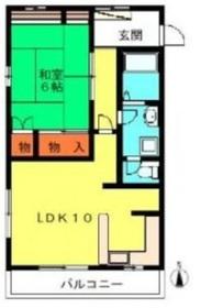 ラ・メゾン・リヴランA3階Fの間取り画像