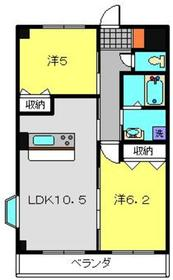 日吉本町駅 徒歩28分3階Fの間取り画像