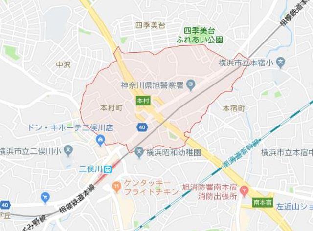 アスティー二俣川案内図