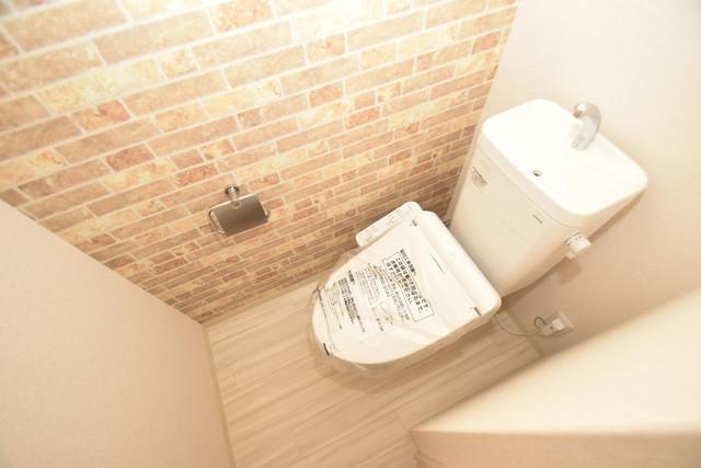 フジパレス諏訪Ⅱ番館 スタンダードなトイレは清潔感があって、リラックス出来ます。