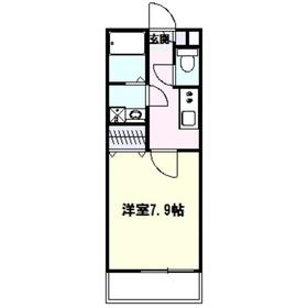 リブリ・ハナミズキ1階Fの間取り画像