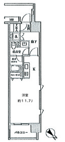大崎広小路駅 徒歩3分9階Fの間取り画像