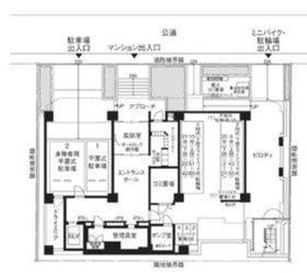 東陽町駅 徒歩2分案内図