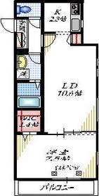 メゾン グランジュテ3階Fの間取り画像