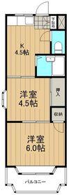 ジュネパレス鎌倉第32階Fの間取り画像