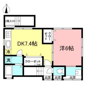 榎本邸2階Fの間取り画像