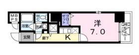 ヤマトエストⅡアサヒヤ5階Fの間取り画像