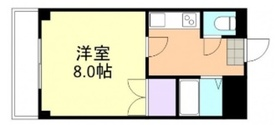プリード倉敷5階Fの間取り画像