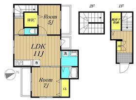 リナリア白金台3階Fの間取り画像