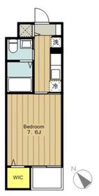 maison RIA3階Fの間取り画像