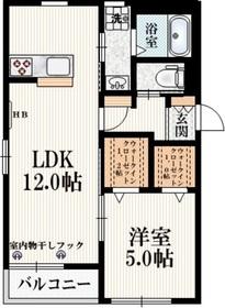 Kaoyu2階Fの間取り画像