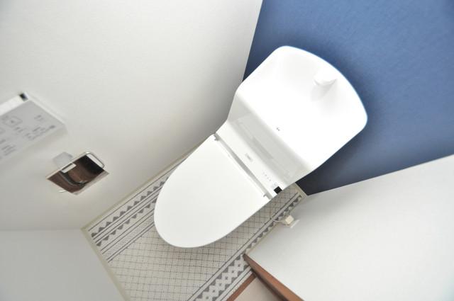 クリエオーレ巽南 清潔感たっぷりのトイレです。入るとホッとする、そんな空間。