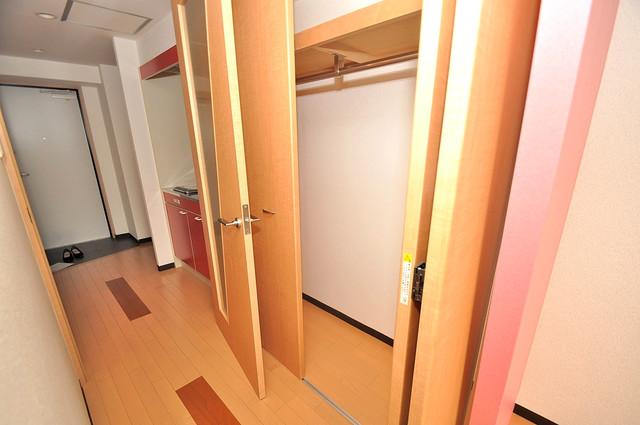 プラ・ディオ徳庵セレニテ もちろん収納スペースも確保。お部屋がスッキリ片付きますね。