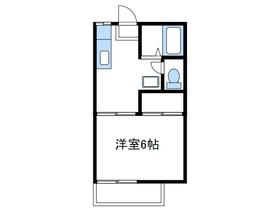 ファミーユ菅野1階Fの間取り画像