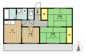 メゾンドハル3階Fの間取り画像