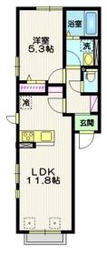 (仮称)古千谷本町2丁目計画2階Fの間取り画像