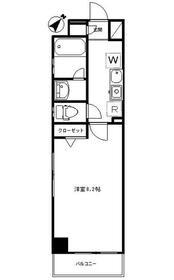エスポワール浅草3階Fの間取り画像