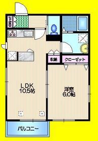 my kugayama2階Fの間取り画像