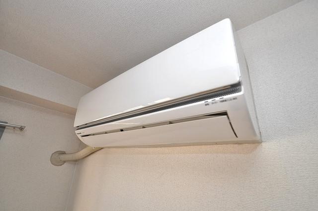 ルヴェール光陽園 エアコンが最初からついているなんて、本当に助かりますね。