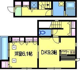 江戸川橋駅 徒歩3分2階Fの間取り画像