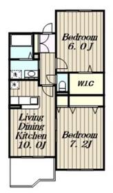 リーバグラジーア3階Fの間取り画像