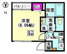ピュア・ブランチ久が原 101号室